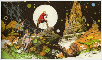 Al Williamson Flash Gordon Panorama 2